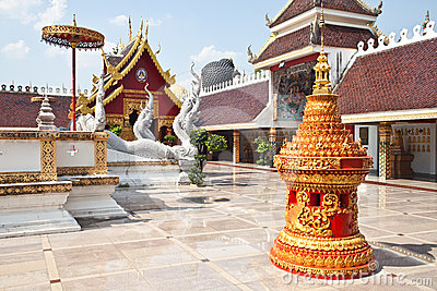 Thai traditional temple style