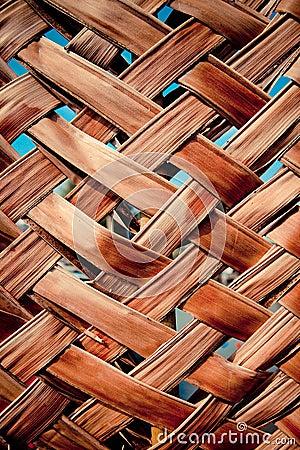 Weave wall bamboo