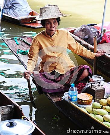 Thai woman Editorial Stock Photo