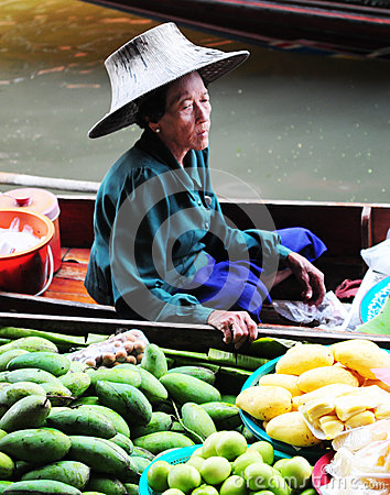 Thai woman Editorial Image