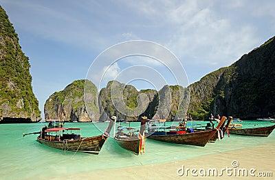 Thailand. Andaman sea. Phi Phi island. Maya bay