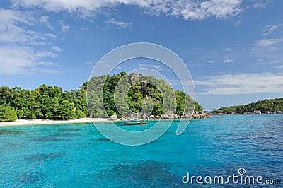 Thailand. Andaman sea. Similan. Boat