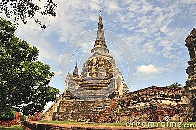 Thailand Ayutthaya Phra Sri Sanphet