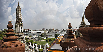 Thailand, Bangkok,  The Chao Phraya River Stock Images - Image: 12656954