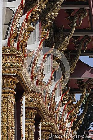 Thailand, Bangkok, Indrawiharn temple