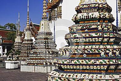 Thailand, Bangkok, Pranon Wat Pho