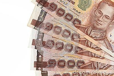 Thailand banknotes