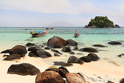 Thailand beach coast of Andaman