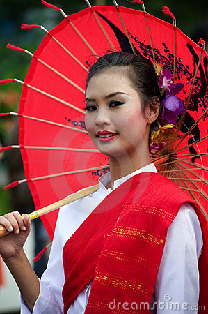 Thailand Chiang Mai Flower festival Editorial Photography