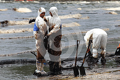 THAILAND-ENVIRONMENT-OIL-POLLUTION Editorial Image