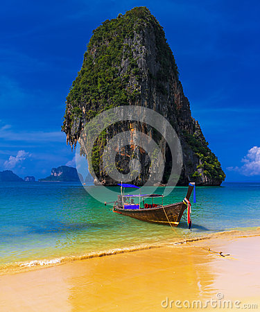 Thailand exotic tropical beach