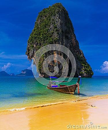 Thailand exotic tropical beach