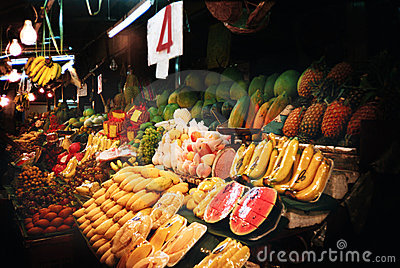 Thailand fruit market