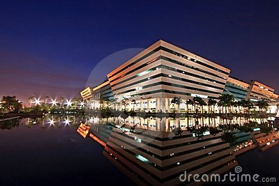 Thailand Government Complex Building Editorial Stock Photo