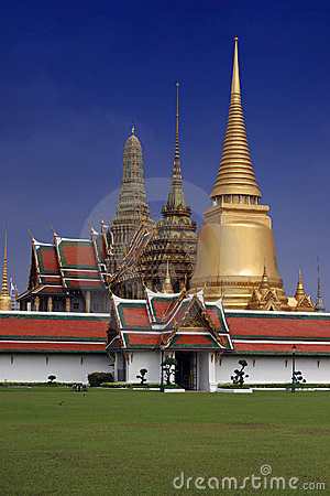 Free Thailand Grand Palace Stock Image - 9531491