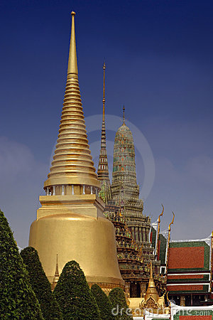 Free Thailand Grand Palace Stock Image - 9531541