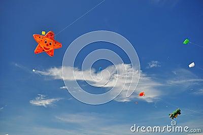 Thailand International Kite Festival 2012 Editorial Photo