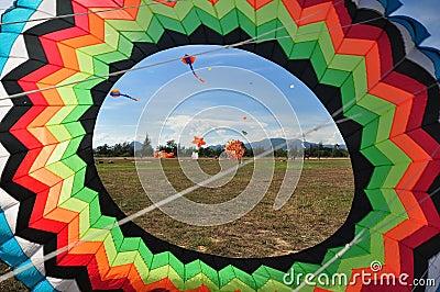Thailand International Kite Festival 2012 Editorial Photography
