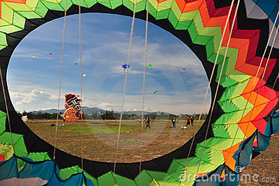 Thailand International Kite Festival 2012 Editorial Stock Photo