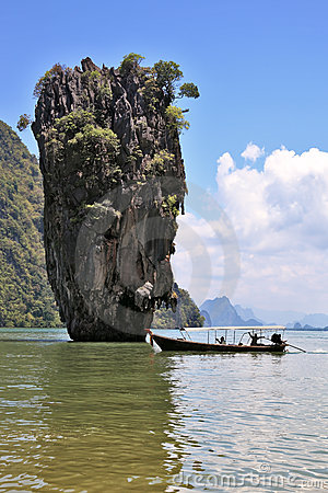 Thailand. The island of James Bond