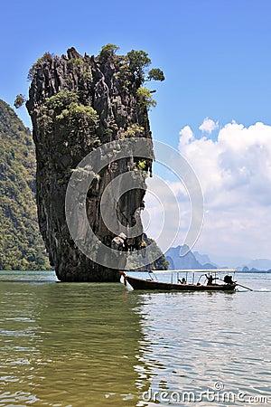 Thailand. The island of James Bond