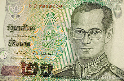 Thailand-Königbanknote