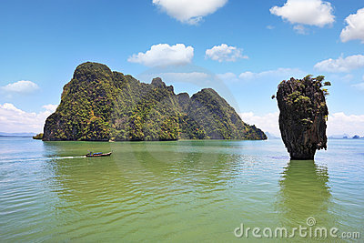 Thailand. The magnificent island of James Bond