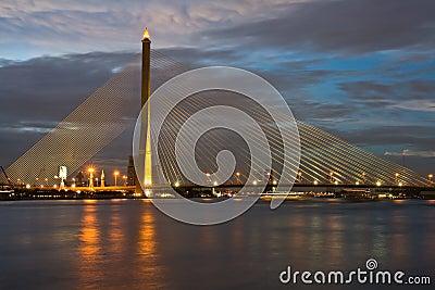 Thailand Mega Sling Bridge