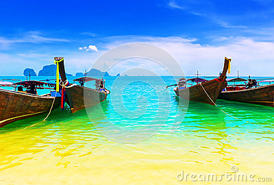 Thailand ocean beach