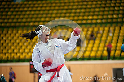 Thailand Open Karate-Do Championship 2013 Editorial Photography