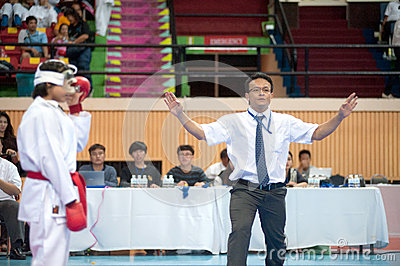 Thailand Open Karate-Do Championship 2013 Editorial Image