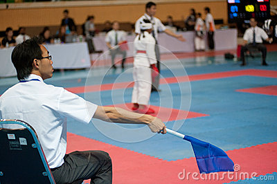 Thailand Open Karate-Do Championship 2013 Editorial Stock Photo