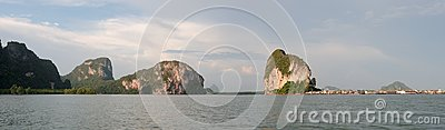 Thailand  Phang Nga - Panorama