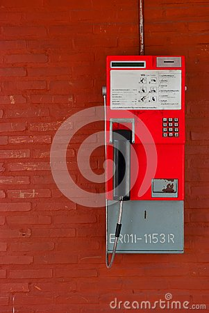 Thailand public pay phone