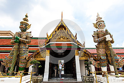 Thailand s Grand Palace Editorial Stock Image