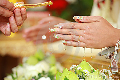 Thailand style wedding