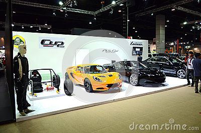 Thailand Super Car & Import Car Show Editorial Stock Image