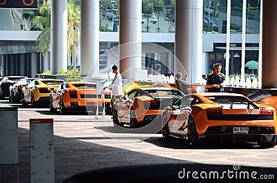 Thailand Super Car & Import Car Show Editorial Image