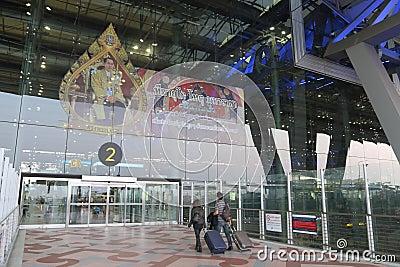 Thailand : Suvarnabhumi Airport Editorial Image