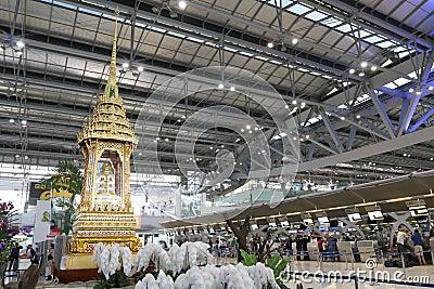 Thailand : Suvarnabhumi Airport Editorial Stock Image