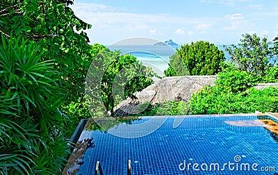 Thailand tropical resort