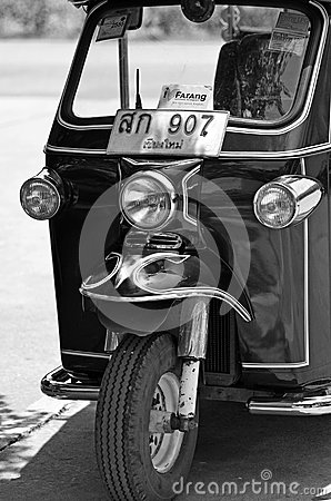 Thailand tuk tuk Editorial Stock Image