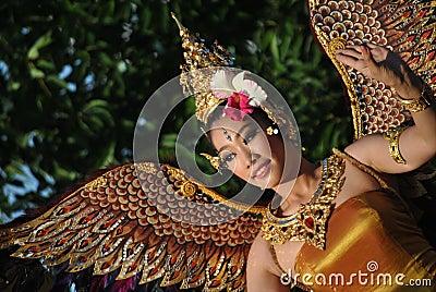 Thailandesi dancer Editorial Stock Photo