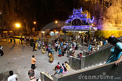 Thaipusam celebrations Editorial Stock Photo