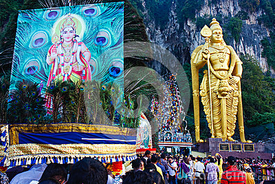 Thaipusam Festival 2012 : Devotion Editorial Image