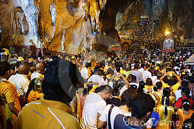 Thaipusam Festival 2012: Flow of Devote Editorial Image
