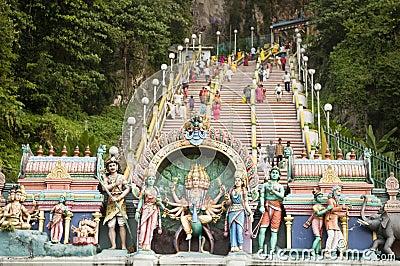 Thaipusam hindu festival Editorial Image