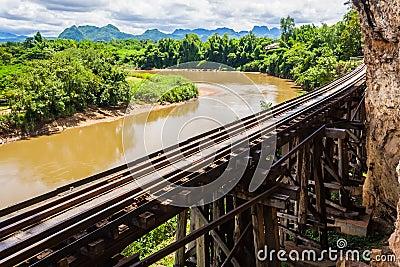 Tham krasae bridge.