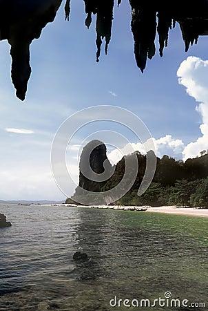 Tham Phra Nang beach, Thailand