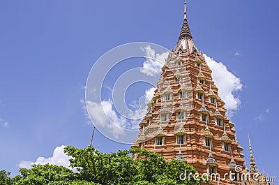 A Tham Sua Temple, (tiger cave temple) Kanchanaburi, Thailand